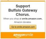 Shop at Amazon and Support Buffalo Gateway Chorus